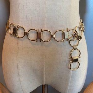 Salvatore Ferragamo vintage chain belt